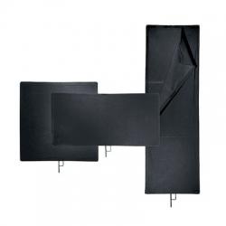Avenger Solid Black Flag I650B 45x60cm