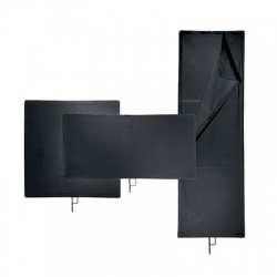 Avenger Solid Black Flag I600B 30x45cm