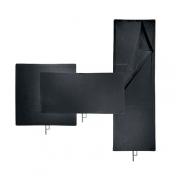 Avenger Solid Black Flag I750B 60x90cm