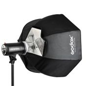 Godox Umbrella Softbox ja softgrid Octa 80cm