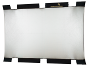 Sunbounce Big heijastinkangas hopea/valkoinen